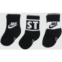 Accessories Nike Black & White Kids Jdi Crew 3pk