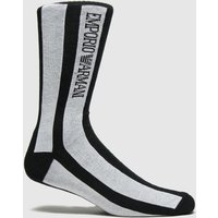 Accessories EMPORIO ARMANI Black & White Short Socks 1pk