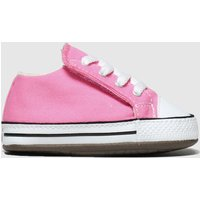Converse Pink All Star Cribster Shoes Baby