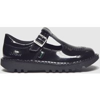 Kickers Black T Patl Shoes Toddler