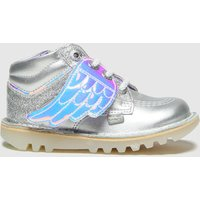 Kickers Silver Hi Angelic Boots Toddler