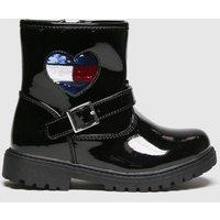 Tommy Hilfiger Black Biker Boot Boots Toddler