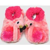 TyUK Pink Gilda Slipper Jnr Boots Junior