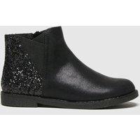 Schuh Black Comet Glitter Chelsea Boots Junior