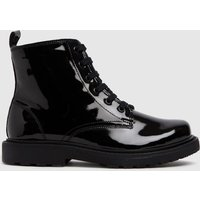 Schuh Black Creator Lace Up Boots Junior