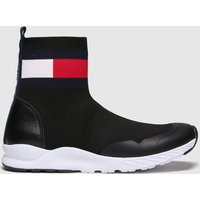 Tommy Hilfiger Black & White Bootie Sneaker Boots Youth