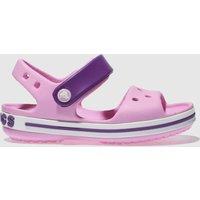 Crocs Pale Pink Crocband Sandal Sandals Toddler
