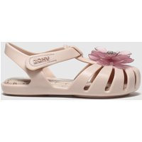Zaxy Pale Pink Baby Flower Party Sandals Toddler