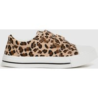 Schuh Tan Maxi Leopard 2v Trainers Toddler