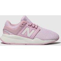 New Balance Pink 247 V2 Trainers Junior