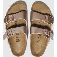 BIRKENSTOCK Bronze Arizona Sandals Junior