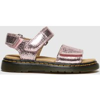 Dr Martens Pink Romi Trainers Junior