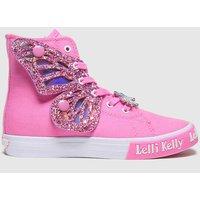 Lelli Kelly Pale Pink Unicorn Wings Trainers Junior