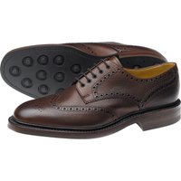 Badminton Calf Full Brogue Shoe