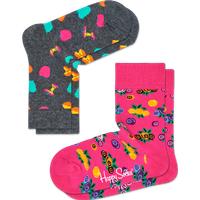 Kids 2-Pack Apple Sock