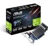 ASUS 710-2-SL - Grafikkarten - GF GT 710 - 2GB DDR3 - PCIe 2,0 - DVI, D-Sub, HDMI - ohne Lüfter (90YV0940-M0NA00) (B-Ware)