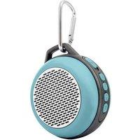 Lamax Sphere SP-1. Audio Kanäle: 1.0 Kanäle. Übertragungstechnik: Verkabelt & Kabellos, Schnittstelle: Bluetooth/3.5 mm, Bluetooth-Bereich: 20 m. Produkttyp: Mono portable speaker, Produktfarbe: Cyan, : Sphärisch. Empfohlene Benutzung: Universal, Unterstützte Audioformate: MP3,WAV. Energiequelle: Batterie/Akku, Akku-/Batteriebetriebsdauer: 5 h (SPHERESP1)