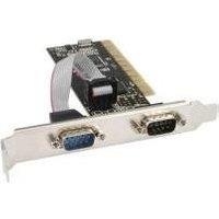 InLine Schnittstellenkarte, 2x 9 pol seriell, PCI (66636I)