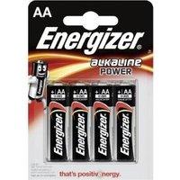 Energizer E300132900 - Alkali - Zylindrische - AA - Schwarz - Silber - Sichtverpackung (629730)
