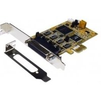 Exsys 4S Seriell RS-232/422/485 PCI-Express Karte inkl. LowProfile Bügel und Octopus Kabel (SystemBase Chip-Set) (EX-45364)