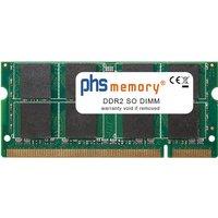 PHS-memory 2GB RAM Speicher für Asus X5DAD DDR2 SO DIMM (SP135593)