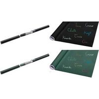 JPC Kreidetafel-Folie, selbstklebend, Rolle, schwarz Maße: (B)600 x (L)2.000 mm, beschreibbar mit Kreide, Gitter - 1 Stück (169102)
