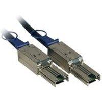 Fujitsu - Angeschlossenes externes SCSI (SAS)-Kabel (seriell) - 4x Shielded Mini MultiLane SAS (SFF-8088), 26-polig - 4x Shielded Mini MultiLane SAS (SFF-8088), 26-polig - 5,0m - für Scalar i500, ETERNUS LT40, LT60, FibreCAT TX24 S2, TX48 S2, Scalar i500 (D:KBSAS1S-2S-5M)