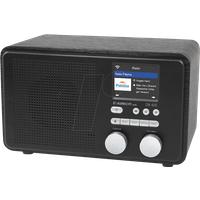 Albrecht DR 425 IR WLAN Internet-Radio, Spotify Farbdisplay, USB-Player, Empfängt in Verbindung mit einem WLAN-Router über 25.000 Radiosender aus aller Welt - Unterstützt Spotify Connect (27425)