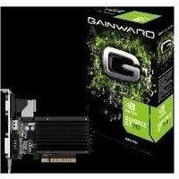 Gainward GeForce GT 710 SilentFX - Grafikkarten - GF GT 710 - 2GB DDR3 - PCIe 2,0 - DVI, D-Sub, HDMI (.3576)