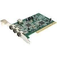 StarTech.com 4 Port 1394a FireWire PCI Schnittstellenkarte - 3x extern 1x intern - FireWire-Adapter - PCI - Firewire - 3 Anschlüsse (PCI1394MP)