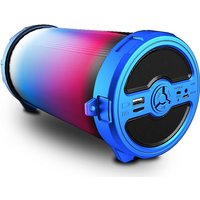 iDance Cyclone 300 - 7,62 cm - 50 W - Verkabelt & Kabellos - Mikro-USB - Micro-USB A - Tragbarer Stereo-Lautsprecher - Blau (CY300BL)