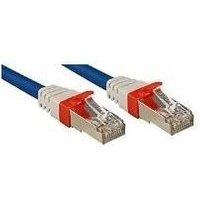 Câble de raccordement réseau LINDY LINDY Cat.6 (A) SSTP / S/FTP PIMF 45373 RJ45 1 pc(s)