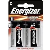 Energizer E300152200 - Alkali - Zylindrische - D - Schwarz - Rot - Silber - Sichtverpackung (629733)