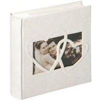 Walther Sweet Heart 10x15 200 Fotos - Papier - Cream - Weiß (ME123)