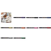 uni-ball Lack-Marker POSCA (PC-1MR), gold Strichstärke: 0,7 mm, wasserfest, geruchfrei, Licht- (PC-1MR OR)