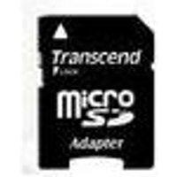 Transcend - Flash-Speicherkarte (microSDHC/SD-Adapter inbegriffen) - 4GB - Class 10 - microSDHC (TS4GUSDHC10)