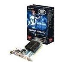 Sapphire RADEON HD 6450 - Grafikadapter - Radeon HD 6450 - PCI Express 2,1 x16 - 2GB GDDR3 - DVI, HDMI (HDCP) - Lite Retail (11190-09-20G)