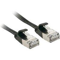 Câble réseau plat Cat.6A U/FTP, noir, 3m (47483)