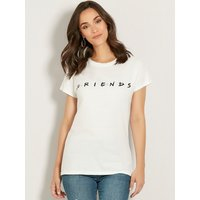 Women's Ladies Friends slogan t-shirt