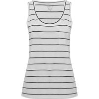 Women's Ladies sleeveless striped vest top