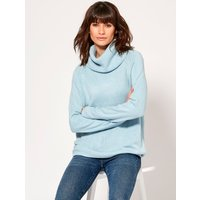 Women's Ladies long sleeve cowl neck jumper