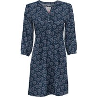Women's Brakeburn ladies three quarter length sleeve notch neck floral print casual a-line tunic dre