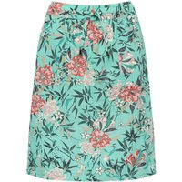 Petite ladies linen skirt with a tropical floral print  - Looney Tunes