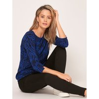 Womens Petite ladies animal print jumper