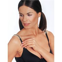 Naturana Ladies Clear Pain Relief Holder Silicone Mould Bra Strap Cushion Shoulder Pads - Nude