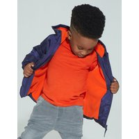 Kids Boys padded jacket with long sleeves  - Navy