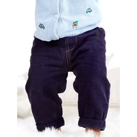 Kids Baby boy cord trousers  - Navy