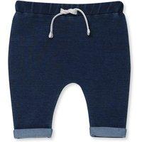 Kids Baby denim joggers - Denim Blue