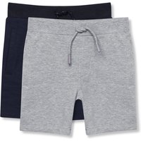 Kids Baby boys jersey shorts two pac - Navy