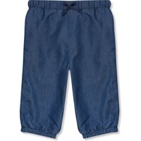 Kids Baby girl chambray pull on lined trouers (9mths-5yrs) - Chambray